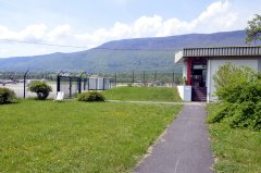 Espace vert et terrasse